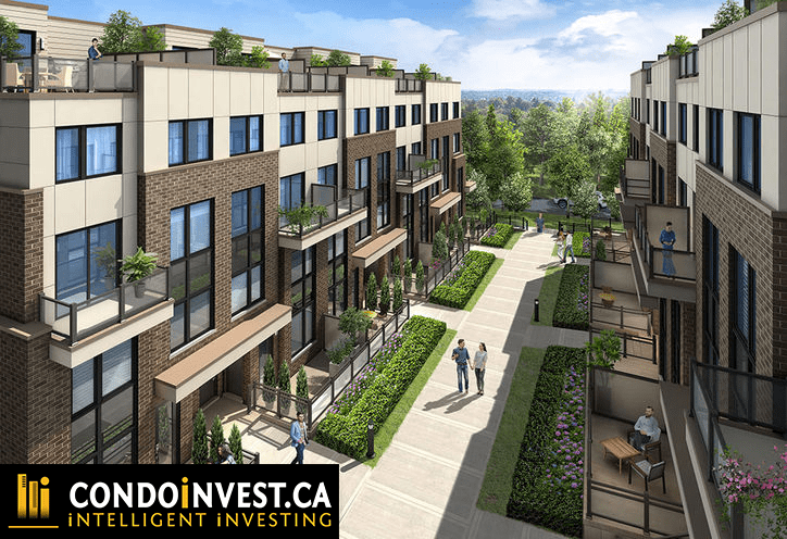 Market District Urban Towns - Townhomes exterior