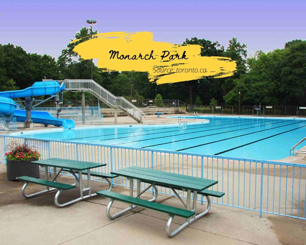 Monarch Park Toronto Swimming Pool