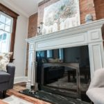 82 Linnsmore Cres Fireplace