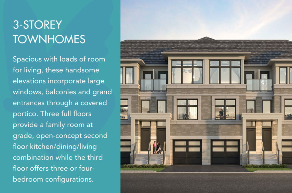 3 storey townhomes